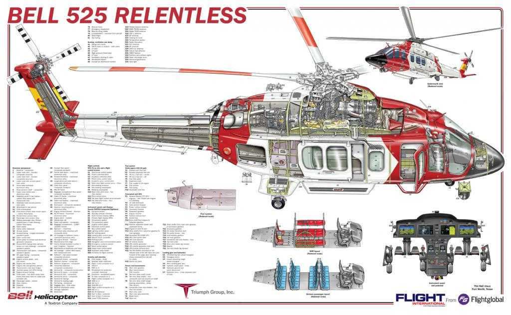 HACER CLICK PARA ALTA RESOLUCION - CLICK FOR HI-RES. Bell 525 Relentless SAR