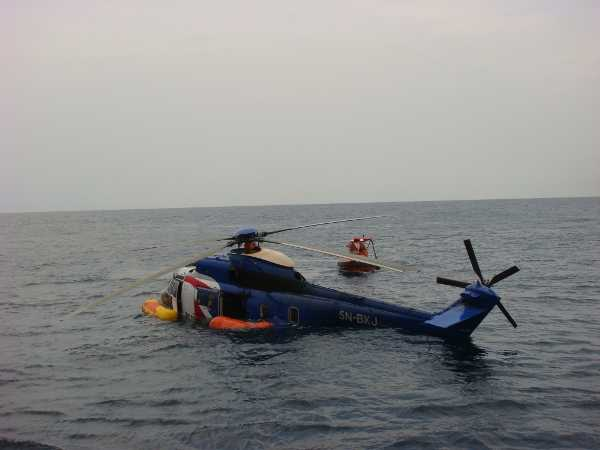 Bristow helicopters 2009 - Super Puma AS332